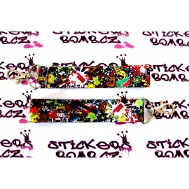 Klíčenka Stickersbomb Color