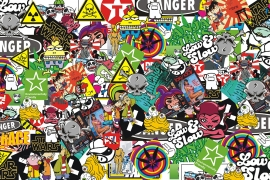 Stickers Bomb Folie C