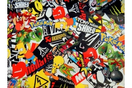 Stickers Bomb Folie S