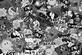 Stickers Bomb Folie 1B