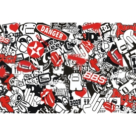 Stickers Bomb Folie R XXL