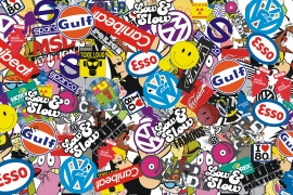Stickers Bomb Folie W5 (XXL)